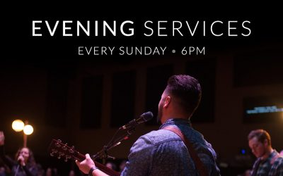 Evening Services Have Launched!